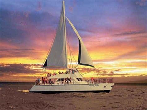dinner on a boat hawaii kauai boat tours deluxe niihau na pali snorkeling tour