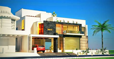 3d front elevation com modern house plans house designs 3d front elevation com 1 kanal plot new beautiful