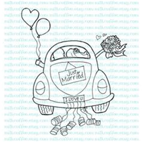 Just Married Auto Basteln Vorlage by Just Married Car Cre8tive Repinned By