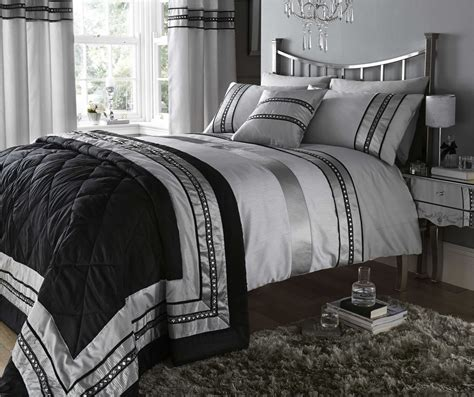 black and silver comforter sets black and silver bedding sets has one of the best kind of