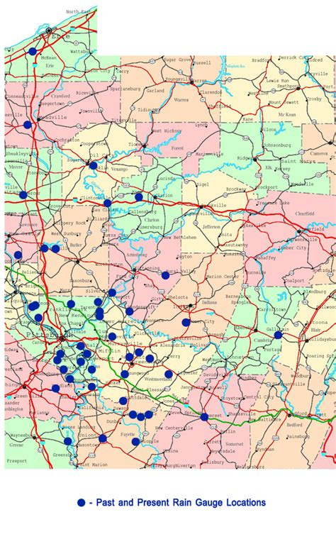 western pa map map of western pa pictures to pin on pinsdaddy