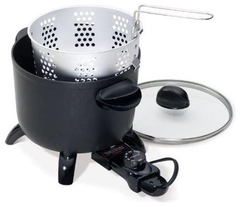 Presto Kitchen Kettle Electric Multi Cooker And Fryer Presto 06006 Kitchen Kettle Electric Multi Cooker Fryer