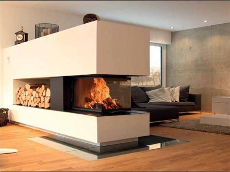insert cheminee bois cheminee 2 faces vitrees