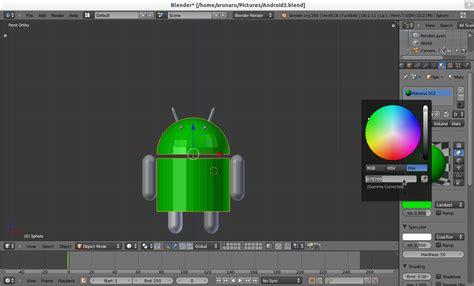 membuat game android dengan blender membuat objek android menggunakan blender 3d teknik