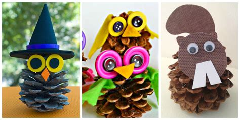 pinecone craft pine cone crafts for crayon box chronicles