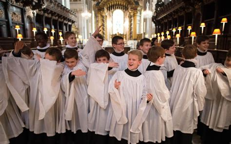 choir sections let the trebles sing why cathedral choirs should be all male