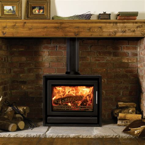 Riva F66 Freestanding Wood Burning Multi Fuel Stove Fuel Burning Fireplaces