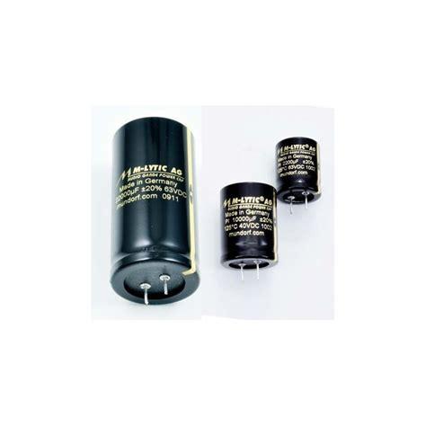 electrolytic capacitor glue electrolytic capacitor mundorf mlytic ag glue on 10000 uf 25vdc 125c 2pin fidelity components shop