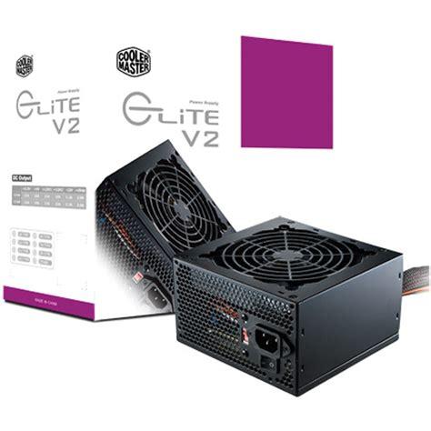 Power Supply Cooler Master cooler master elite v2 550w computer power supply