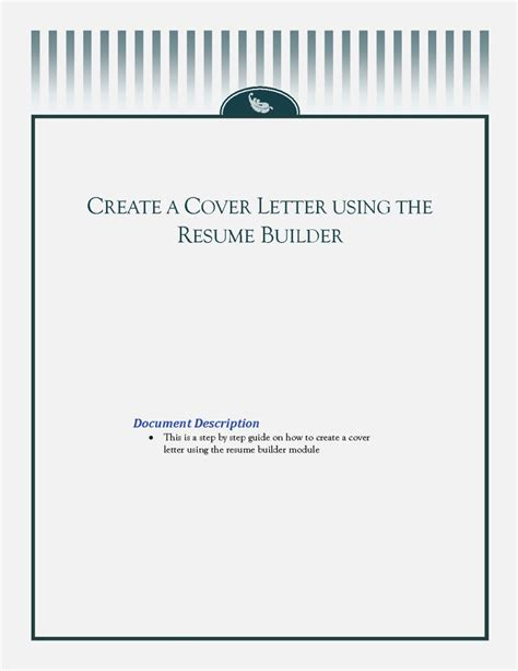 What Is A Cover Page For A Resume by Creating A Resume Cover Page Resume Template Cover Letter