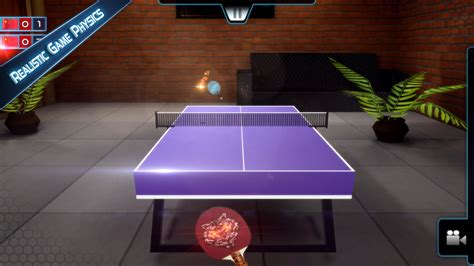 design game pong table tennis 3d live ping pong