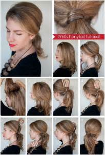 diy hairstyles for shoulder length diy ponytail hairstyles for medium long hair popular