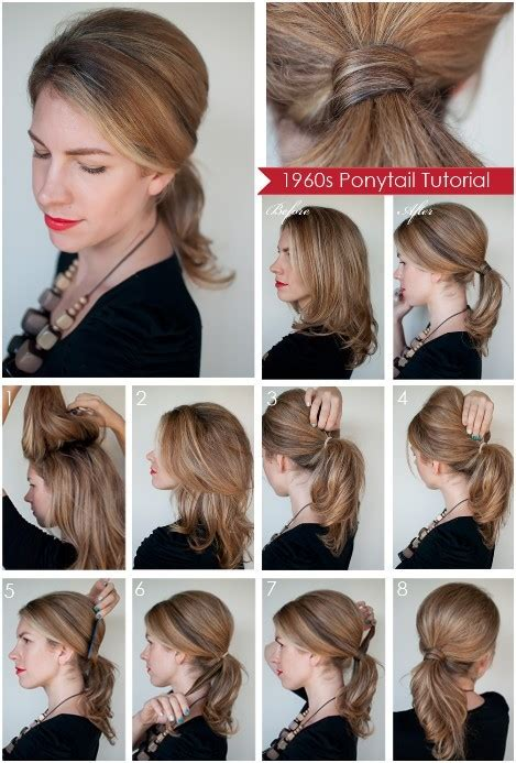 Diy Ponytail Haircut For Medium Length Hair | diy ponytail hairstyles for medium long hair popular