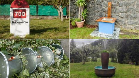 como hacer una fuente de jardin ideas para hacer una fuente de jard 237 n hogarmania