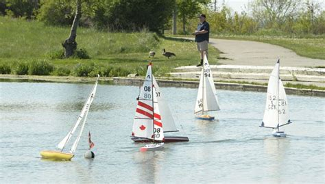 boat supplies etobicoke metro marine modellers bring tiny vessels to humber bay