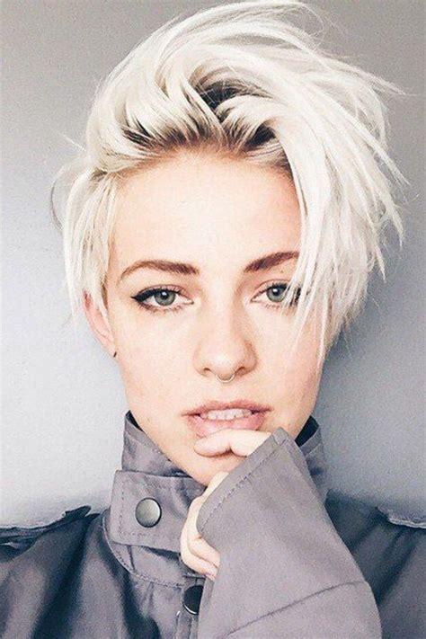 short platinum blonde hairstyles women 25 best ideas about short platinum hair on pinterest