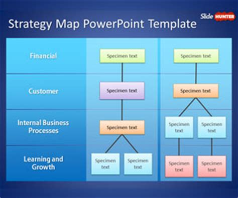 strategy tree template free strategy map powerpoint template is a business ppt