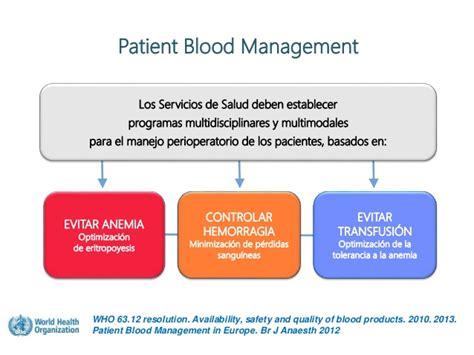 dra management sesi 243 n de patient blood management en cirugia cardio