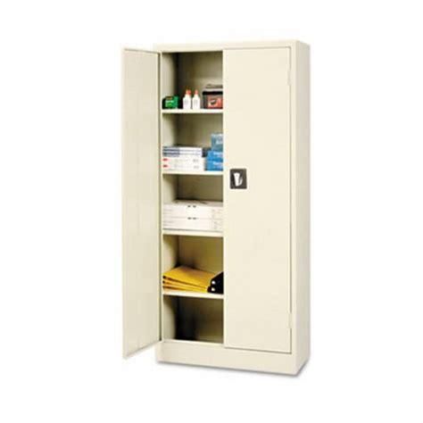 Alera Space Saver 66 Quot High Storage Cabinet 4 Adjustable Space Saver Bookshelves