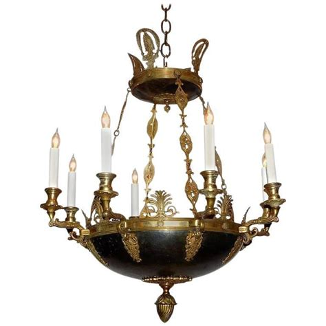 Circa Lighting Chandeliers Eight Light Empire Style Chandelier Circa 1900 Denmark For Sale At 1stdibs