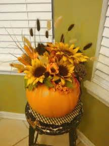 Gourd Vases How To Create Fall Flower Arrangements In Handmade Pumpkin