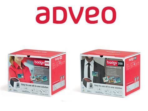 badgy card templates business agreement between evolis and adveo to enhance the