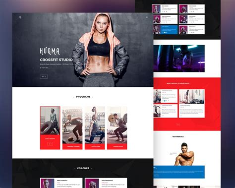 templates bodybuilder for photoshop download gym website template psd download download psd