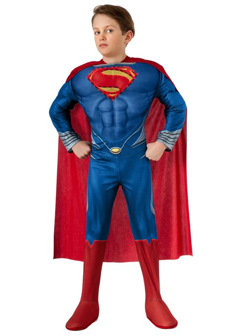 superman costume deluxe lite up of steel superman child costume