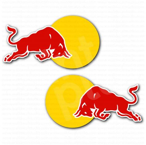 Auto Logo Roter Stier by Red Bull Racing Car Sticker Set Automotive Stickers