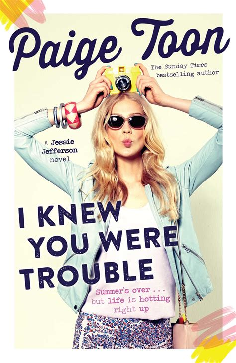 paige toon i knew you were trouble book by paige toon official