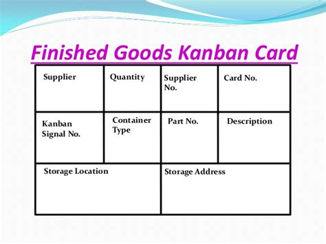 kanban card for inventory template kanban siom