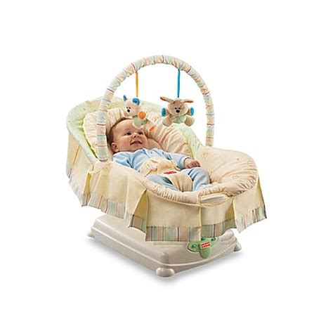 baby swing glider fisher price fisher price 174 soothing motions glider bed bath beyond