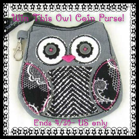 Owl Coin Purse win owl coin purse by thirty one ends 4 30 us only