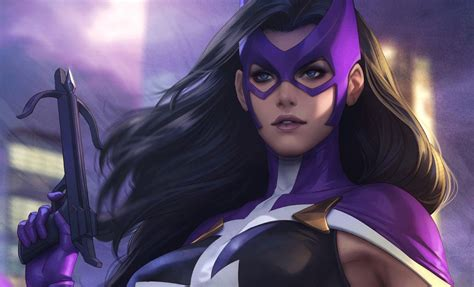 Of The Huntress by Dc Comics Huntress Birds Of Prey Print By Sideshow