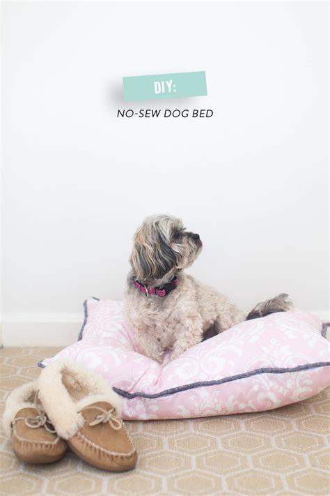 no sew dog bed diy no sew dog bed