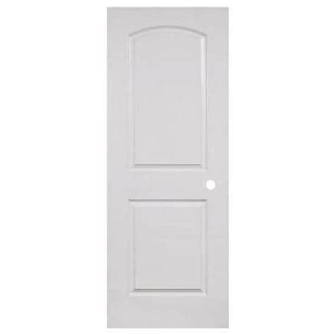Pre Bored Interior Doors Veranda 32 In X 80 In 2 Panel Top Smooth Hollow Primed White Composite Pre Bored