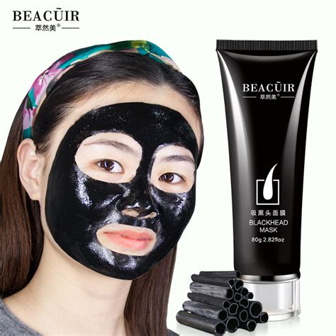 Review Masker Wajah beacuir masker wajah pencabut komedo 80g black jakartanotebook