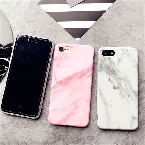 Marble For Iphone 7 Plus marble pattern silicone for iphone 7 7 plus new