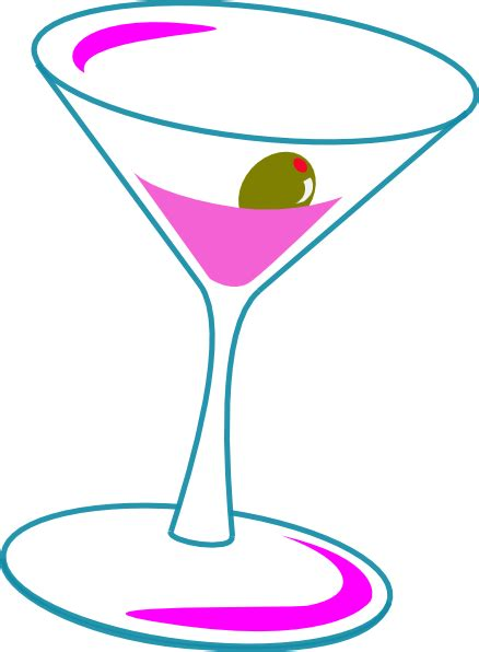 martini cocktail cartoon cosmo clip art at clker com vector clip art online