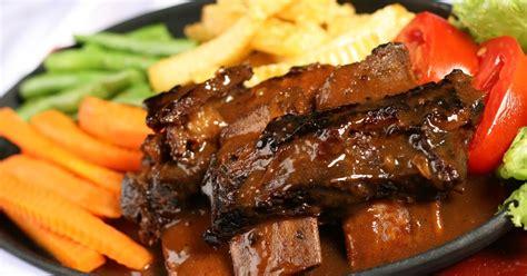 Iga Bakar Bumbu Kecap Vegetarian resep iga panggang resep masakan ta berbagi cita rasa dalam masakan