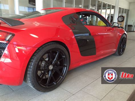 maserati v10 stunning red audi r8 v10 on hre p101 s maserati forum