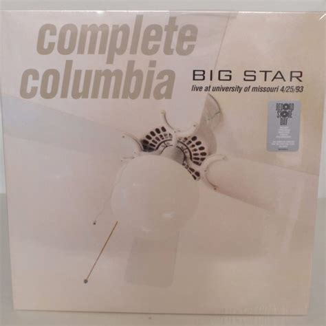 Missouri Records 2016 Sealed New Big Complete Columbia Live At Of Missouri 4 25 93 Promo