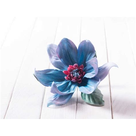 Silk Fabric Flowers Handmade - handmade silk fabric flower orchid brooch