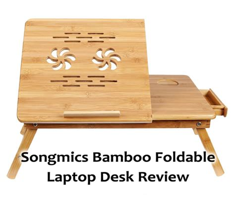 songmics bamboo laptop desk songmics bamboo foldable laptop desk review