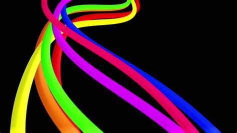 fiber optic animation a bright rainbow fibre optic animated background stock