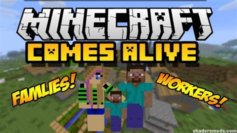 In Comes Alive by Minecraft Comes Alive Mod For Minecraft 1 12 1 11 2 1 10 2
