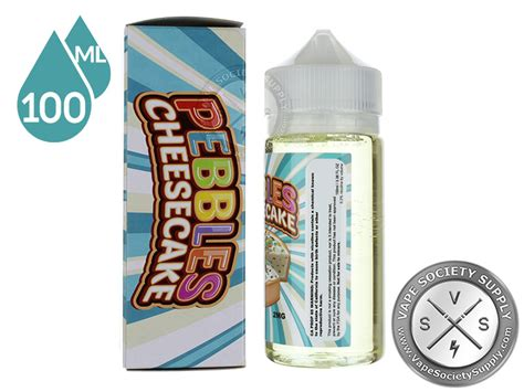 Vaper Treats Pebbles Cheesecake Liquid pebbles cheesecake by vaper treats eliquid 100ml vape society supply