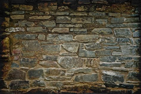 stone brick old stone brick wall stock background free texture www