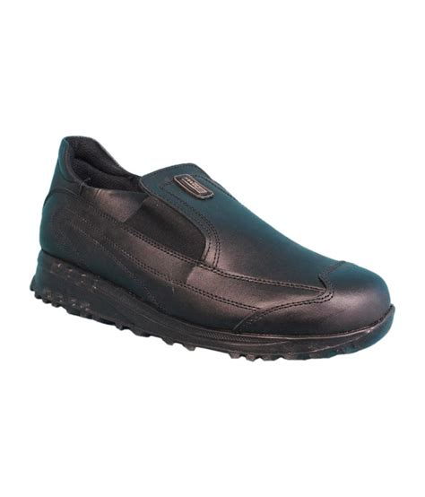 liberty sport shoes liberty black slip on sport shoes price in india buy
