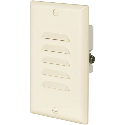 wall plates with led lights eaton 15 amp 120 volt led stoplight with vertical and